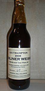 Southampton Berliner Weisse