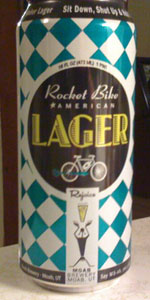 Rocket Bike American Lager (Non-4% Version)