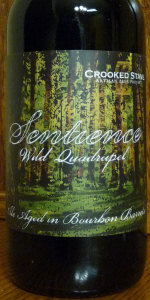 Crooked Stave Bourbon Barrel Aged Sentience