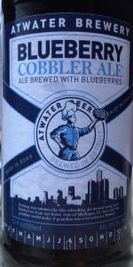 Blueberry Cobbler Ale