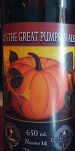 Church-Key It's The Great Pumpkin Ale