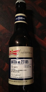 Batch No. 23185 (Williamsburg, VA)