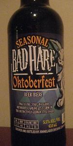Bad Hare Oktoberfest