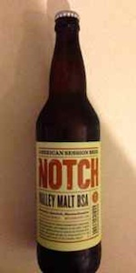 Notch Valley Malt BSA