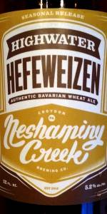 Flood Waters Series: Highwater Hefeweizen