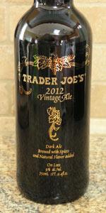 Trader Joe's 2012 Vintage Ale