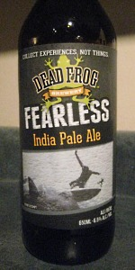 Fearless India Pale Ale
