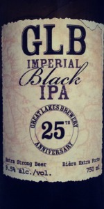 Great Lakes 25th Anniversary Imperial Black IPA