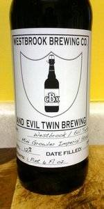 Westbrook / Evil Twin Minigrowler Imperial Stout