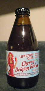 Uptown Girl Cherry Belgian Red