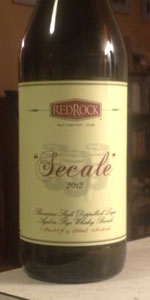 Red Rock Secale Rye Barrel Aged Doppelbock