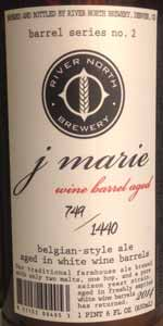 Barrel Series No. 2 - J. Marie Aged In White Wine Barrels