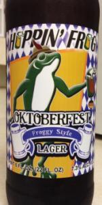 Oktoberfest Froggy Style Lager