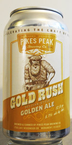 Gold Rush Belgian-Style Golden Ale