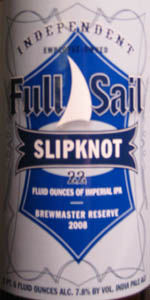 Slipknot Imperial IPA (Brewmaster Reserve)