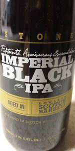 15th Anniversary Escondidian Imperial Black IPA - Lowland Scotch Whisky Bar