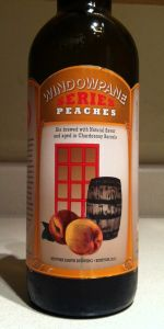 Window Pane Series Peaches
