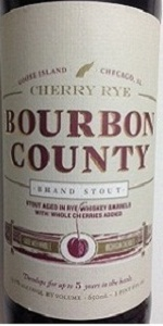 Bourbon County Backyard Rye cherry rye bourbon county brand stout | goose island beer co