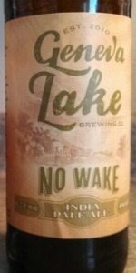 No Wake India Pale Ale