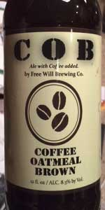 Coffee Oatmeal Brown Ale