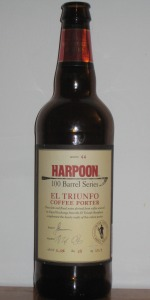 Harpoon 100 Barrel Series #44 - El Triunfo Coffee Porter