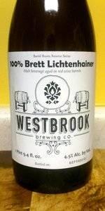 100% Brett Barrel Fermented Lichtenhainer Weisse