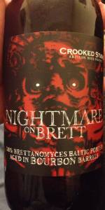 Crooked Stave Nightmare On Brett - Bourbon Barrel