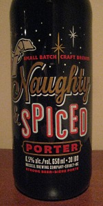 Naughty & Spiced Porter