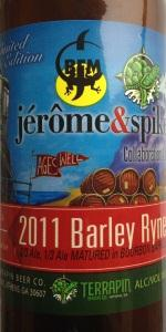Terrapin Spike & Jérôme's Collaboration Ale