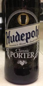 Hudepohl Classic Porter