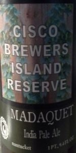 Island Reserve: Madaquet India Pale Ale
