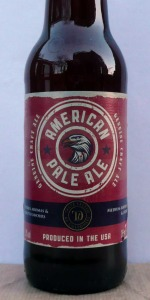 American Pale Ale (for Sainsbury's Taste The Difference Collection)
