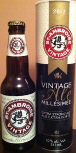 St-Ambroise Vintage Ale Millésimée 2012