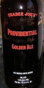 Trader Joe's Providential Golden Ale