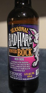 Bad Hare Winter Bock