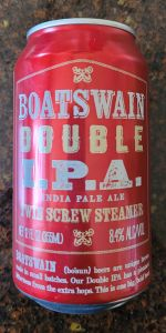 Boatswain Double IPA (Twin Screw Steamer)