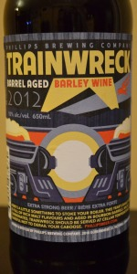 Trainwreck Barrel Aged Barley Wine