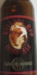 Bulldog Red Irish Ale