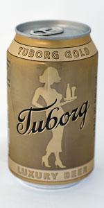 Tuborg Premium Lager (Gold / Guld)