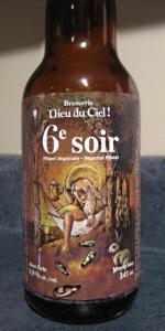 6ième Soir En Fût De Pinot Noir