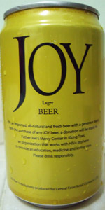 Joy Lager Beer