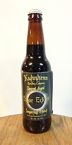 Kuhnhenn Bourbon Barrel Solar Eclipse