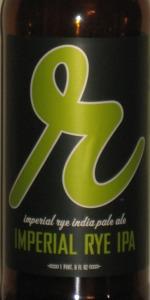 Imperial Rye IPA