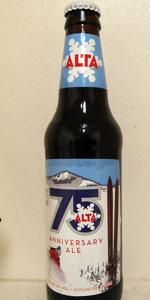 Alta 75th Anniversary Ale