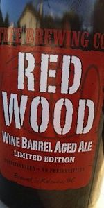 Red Wood Wine Barrel Aged Ale