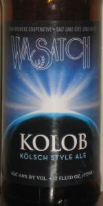 Kolob Kölsch Style Ale