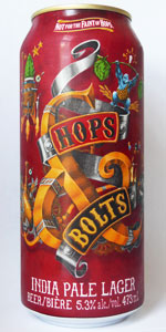 Mad & Noisy Brewing Hops & Bolts India Pale Lager