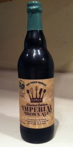 The Fresh Market Limited Edition Imperial Brown Ale