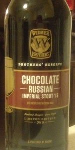 Chocolate Russian Imperial Stout (Brothers' Reserve Series)
