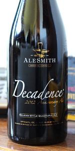 Alesmith Decadence 2012 Belgian-Style Quadruple Ale